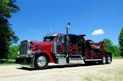 truck wreckers kenworth peterbilt wrecker steel cowboys wreckers pinterest