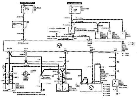 mercedes 300e 1990 wiring diagrams security