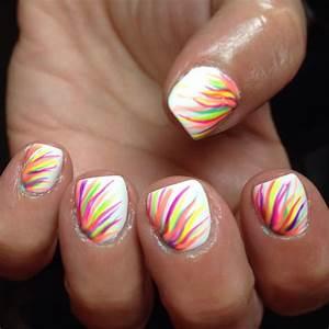 Pics photos rainbow cute nail designs for short nails