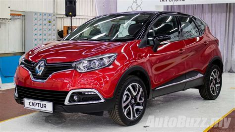 captur renault 2017 renault captur ckd now on sale in malaysia same spec