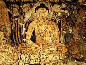 """Gautam Buddha in Meditation. "" Ajanta Caves. Gupta Period ..."