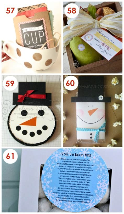101 and easy gifts - Creative Christmas Gift Ideas For Friends