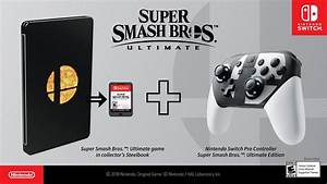 Super Smash Bros Ultimate Special Edition For Nintendo