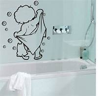 lovely love wall decals lOVELY baby love shower Bathroom Bubble Wall Stickers Glass Door Stickers Cute Children Shower ...