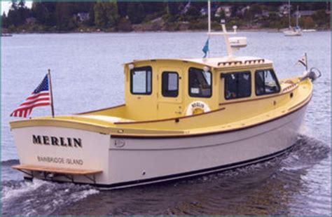 Cmd Boats by Redwing 34 Power Cruiser Tug Yacht