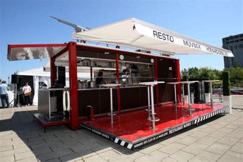 cuisine mobile müvbox fast food shipping container restaurant inhabitat