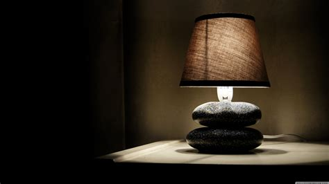 glowing lamp  room hd creative  wallpapers images