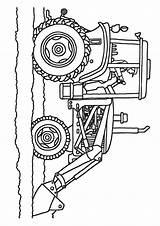 Coloring Tractor Traktor Plow Trecker Ausmalbilder Baufahrzeug Bottom Momjunction Colouring Parking Drawing Six Sheets Printable Kostenlos sketch template