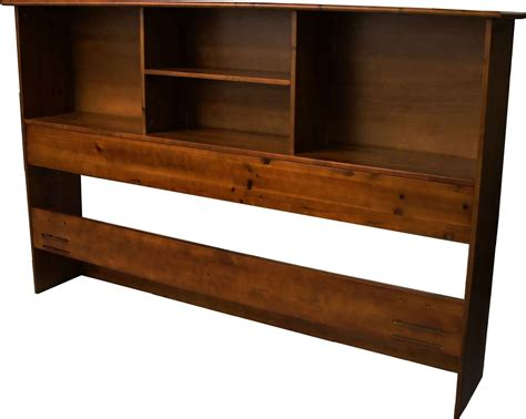 Epic Furnishings Stockholm Bamboo Solid Bookcase Headboard