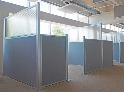 Office Space Dividers by The Hush Panels Diy Cubicle Partitions Are A Wise Choice