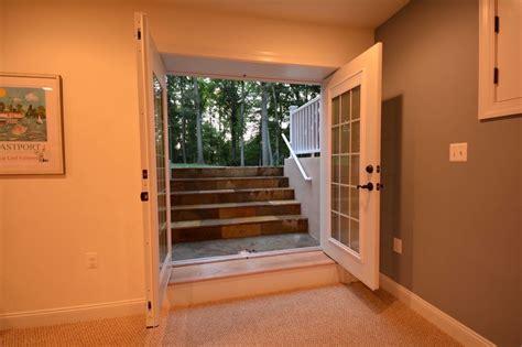 basement walkout basement walk out and egress windows ideas basement