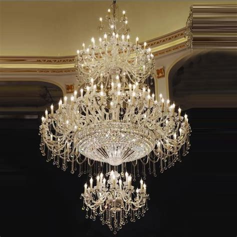 high traditional large chandelier great room