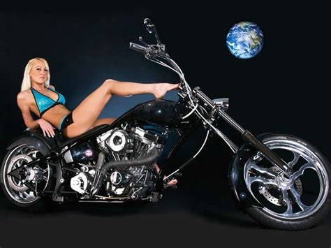 Motorcycle Girls Wallpapers