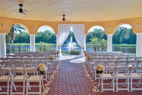 Elegant Rose Gold Ballroom Wedding Tampa Palms Golf