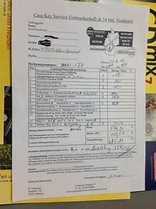 Rechnung Directpay : teure rechnung vom schl sseldienst casa key service ~ Themetempest.com Abrechnung