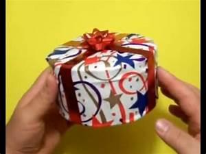 Comment Emballer Un Cadeau : comment emballer un cadeau circulaire youtube ~ Melissatoandfro.com Idées de Décoration