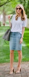 The Denim Skirt Your Summer Wardrobe Staple