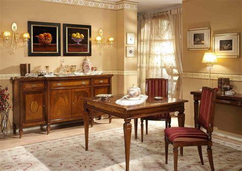 mobili sala da pranzo classica sala da pranzo in noce ciliegio e satin 200 730x