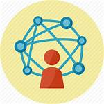 Icon Network Community Social Connection Internet Icons