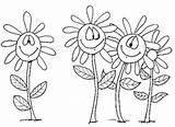 Margaritas Colorear Imprimir Dibujos Pintar sketch template