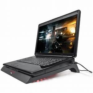 Support Pour Pc Portable : trust gaming gxt 220 ventilateur pc portable trust gaming sur ~ Mglfilm.com Idées de Décoration