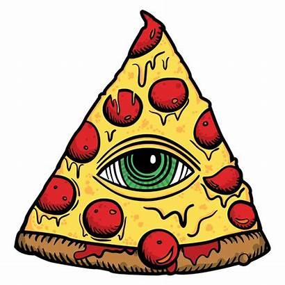 Pizza Illuminati Transparent Dibujos Trump Pizzagate Giphy
