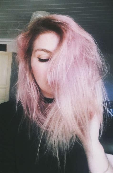 Pin By Änjełinä On Hair Pink Hair Pastel Lavender Hair