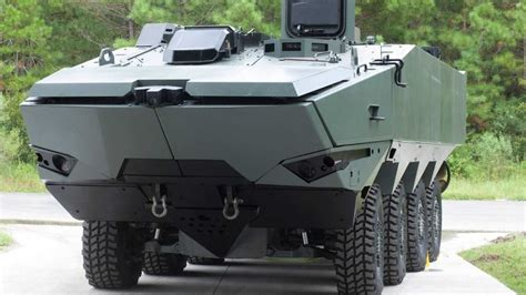 armored future personnel carriers that resemble tesla truck insideevs photos