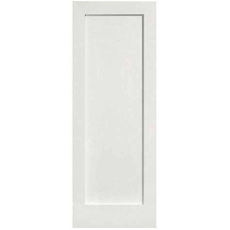 closet doors home depot masonite 36 in x 80 in mdf series smooth 1 panel solid