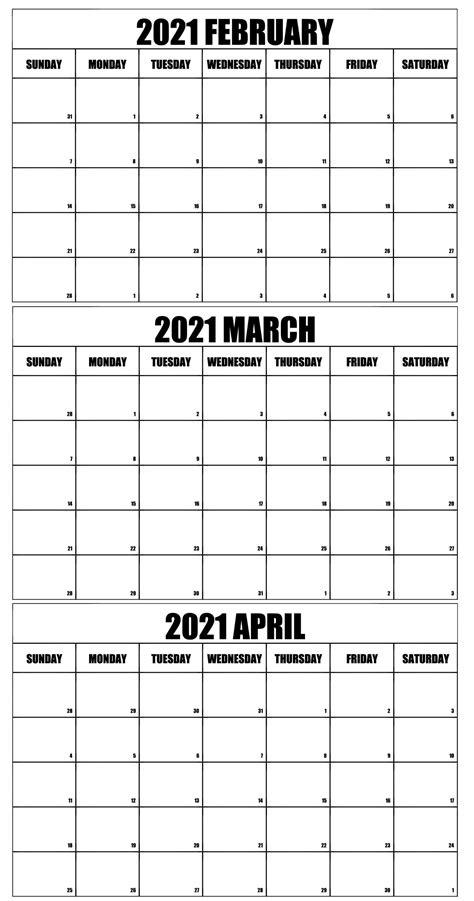 36+ 2021 March Printable Calendar  Pics