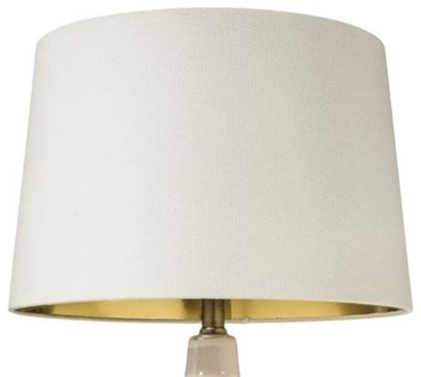 Gold Lined Lamp Shades by Nate Berkus Gold Lining Lampshade Large White