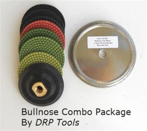 shop tile bullnose blade and polishing pad combo 6 quot x 3 8 quot
