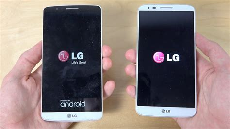 Lg G3 Official Android 5.0 Lollipop Vs. Lg G2 Official