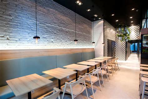 greek cuisine restaurant decor  gasparbonta interiorzine