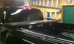Black Low Profile Truck Tool Box