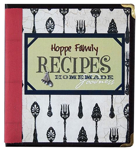8 Best Images Of Our Family Cookbook Covers Printable