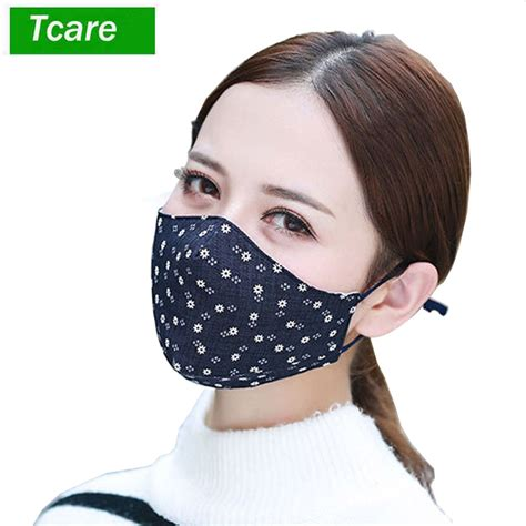 pcs fashion face mouth mask anti dust mask filter