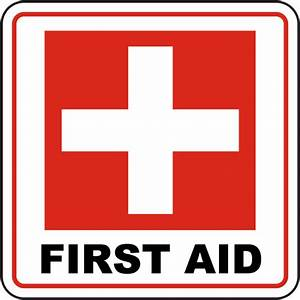 First Aid Sign by SafetySign.com - D4564