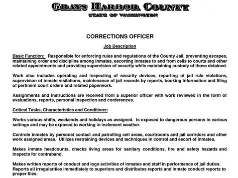 Correctional Officer Cover Letter by Correctional Officer Cover Letter Jose Mulinohouse Co