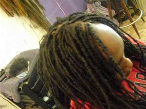 sabrina replaces   builds thinning dreadlocks youtube