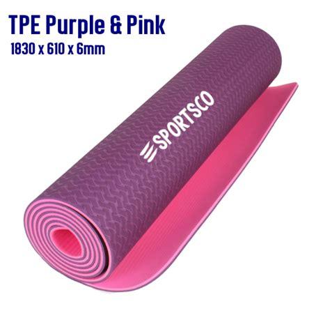 Gaiam Mat Singapore - tpe exercise mat singapore sportsco