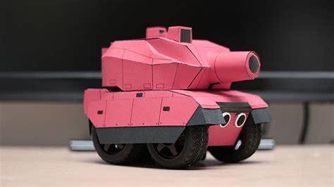 rc paper tank bring   models  life paper