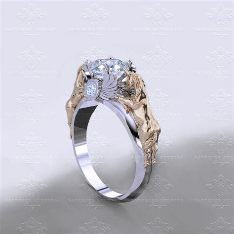 'november Verse' 120ct Natural White Diamond Gold Unicorn. Funky Wedding Rings. Baroque Style Wedding Rings. Wooden Wedding Rings. Clemson Tigers Rings. Accessory Engagement Rings. Vera Wang Wedding Rings. Ivy Leaf Wedding Rings. Wedding Bouquet Wedding Rings