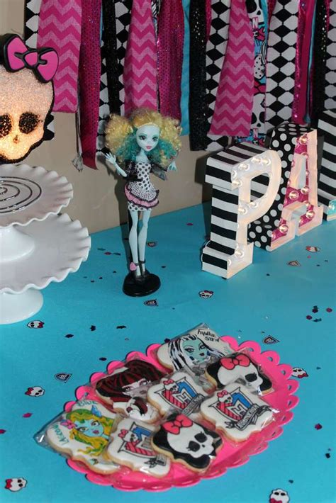 monster high birthday party ideas photo    catch