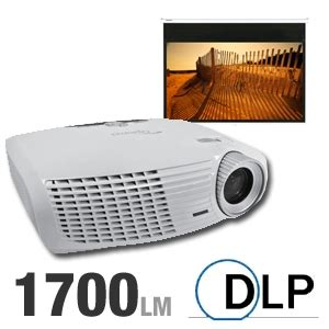 buy the optoma hd20 dlp home theater projector bundle at