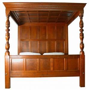 The Tudor Nightstand Custom Hardwood Beds Stephen Plaud