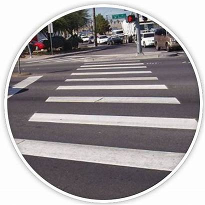 Intersections Intersection Street Crossings Crosswalk Mid Block