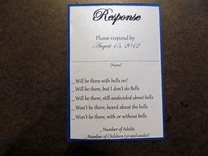 funny wedding response card wording ideas mini bridal With wedding invitation reply quotes