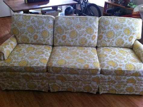 ethan allen traditional classics sofa late 60 s early 70 s