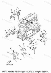 Yamaha Waverunner 2013 Oem Parts Diagram For Engine Mount